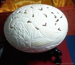 驼鸟蛋工艺品