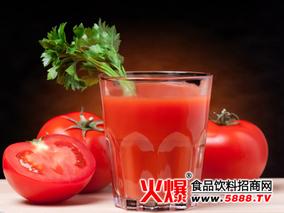番茄汁的加工