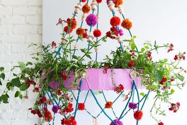 10个有趣、实用的养花创意, 春天的盆栽花就该这么养