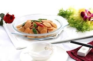 软炒归仁绿豆饼