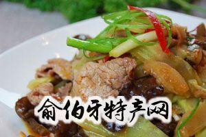 滑炒鲜蘑肉片