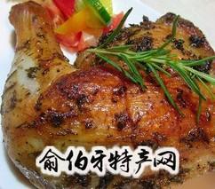 香草烤鸡腿