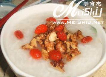 胡桃芡实粥的功效与作用