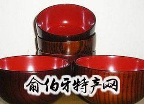 工艺漆木碗