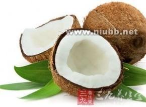 椰子皮的功效与作用