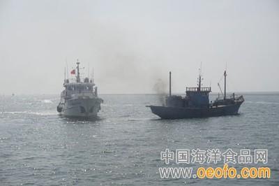 天津市开展2018年海上渔业船舶编队生产及海上应急演练