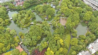 闸北公园全新开放 调整布局结构、强化中式园林特色