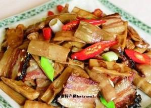 黄竹笋炒腊肉