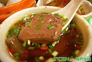 上海猪血扁