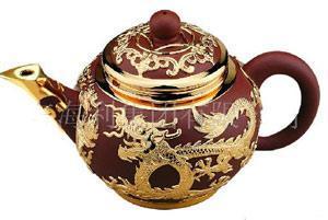 金锡镶工艺茶具