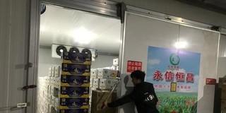 北京新发地新建香蕉气调库投入使用