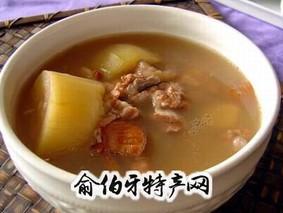 山药百合兔肉汤