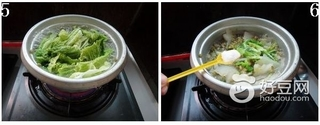 綠豆白菜湯的功效与作用