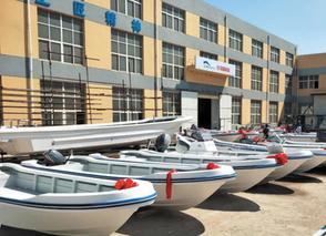 大连市交付首批木改玻璃钢渔船