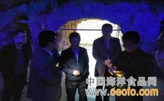 四川省水产局副局长率队到大鲵养殖基地考察