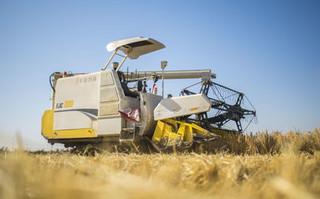 人工智能新应用:无人驾驶的水稻收割机
