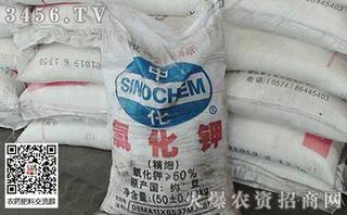 2019年5月29日氯化钾出厂报价一览