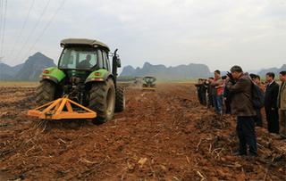 全省春季农机深松整地作业抽查工作圆满结束