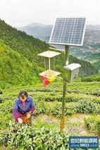 太阳能杀虫灯 推动农药零增长