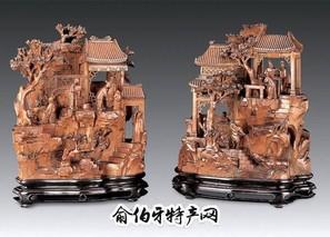 吉林手工彩绘木雕