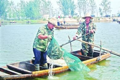 河蟹捕捞法
