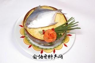 姜葱鲳鱼索面