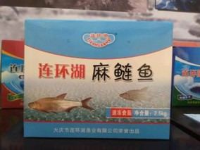 连环湖麻鲢鱼