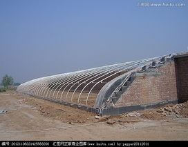 双向单坡日光温室的种植模式