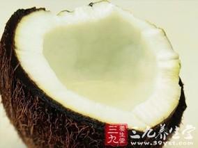 椰子瓤的功效与作用