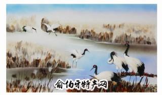 济南羽毛画