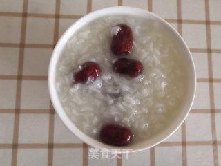 红枣糯米粥的功效与作用