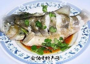 生焖茅岭鲈鱼
