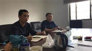 上海水产专家指导浦东鳜鱼种源工作