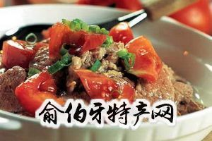 西红柿焖牛肉